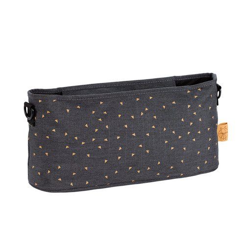 Lassig Casual Label Organizer do Wózka Triangle dark grey