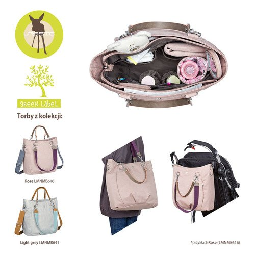 Lassig Green Label Torba z Akcesoriami Mix 'n Match Light grey
