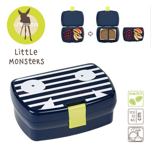 Lassig Lunchbox Little Monsters Bounding Bob