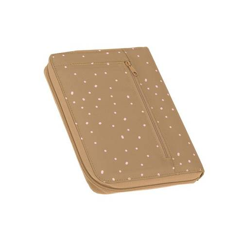 Lassig Casual Label Etui na dokumenty Dots curry