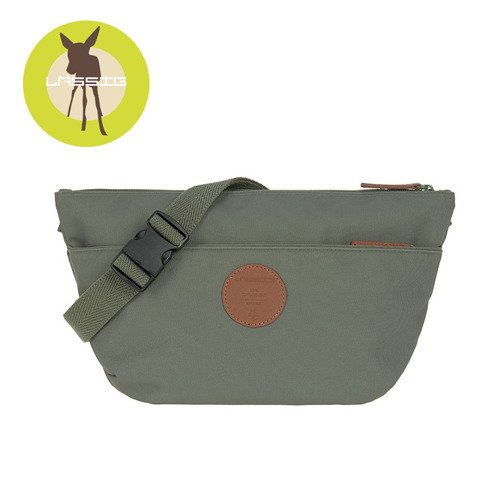 Lassig Green Label Torba nerka dla mam Bum Bag Adventure Olive