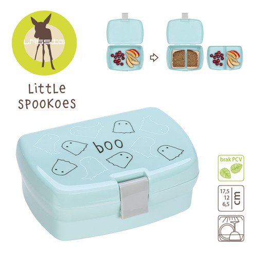 Lassig Lunchbox Little Spookies Aqua